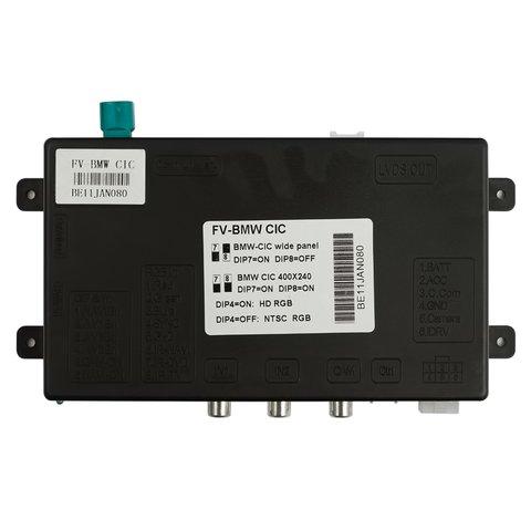 Видеоинтерфейс для BMW 523, 530, 3 (E90), X5, X6, 7 c системой CIC (с круглым коннектором) Превью 1