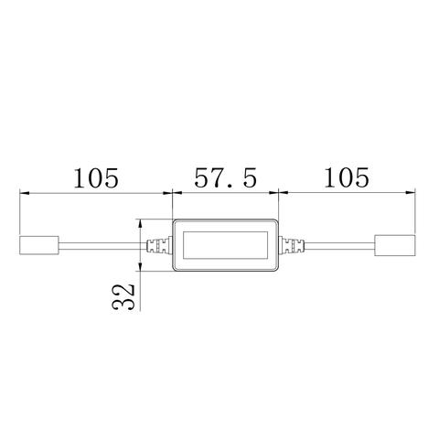 Адаптер CAN-шины для предотвращения ошибок ламп головного света UP-DE-H7 Превью 1