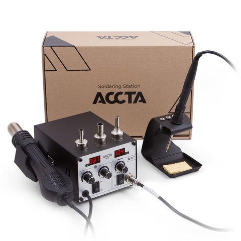 Термоповітряна паяльна станція Accta 401 Прев'ю 13