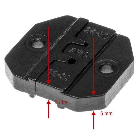 Матрица для кримпера Pro'sKit 1PK-3003D36 - Просмотр 3