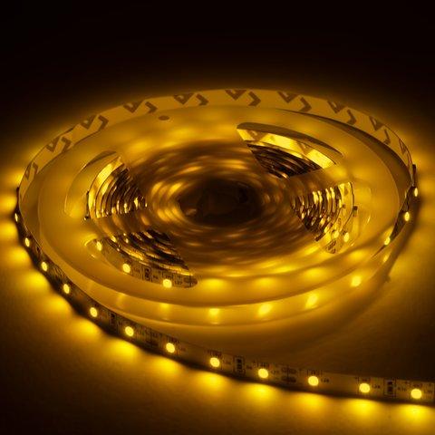 Світлодіодна стрічка SMD3528 (жовта, 60 світлодіодів, 12 В DC, 1 м, IP20) Прев'ю 1
