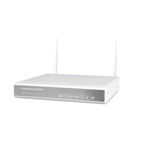 Комплект: мережевий відеореєстратор MIPCK0410 та 4 безпровідних IP-камер спостереження (720p, 1 МП) Прев'ю 1